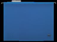 $Файл подвесной пластиковый, А4, синий
