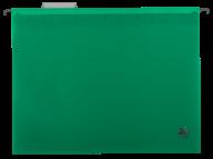 $Файл подвесной пластиковый, А4, зеленый