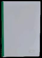 /Папка скоросшиватель с прижимной планкой, 6мм, зеленый