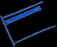 Сшиватель для архивных документов, до 450 л., синий, 50 шт. в упаковке