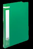 ^$Папка пластиковая с скоросшивателем, JOBMAX, A4, зеленая