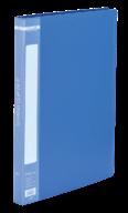 $Папка пластиковая с скоросшивателем, A4, синяя
