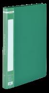 $Папка пластиковая с скоросшивателем, A4, зеленая