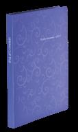 $Папка пластиковая с скоросшивателем, BAROCCO, A4, фиолетовая