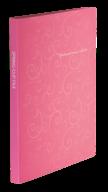 $Папка пластиковая с скоросшивателем, BAROCCO, A4, розовая