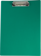 ^$Клипборд, А4, PVC, зеленый