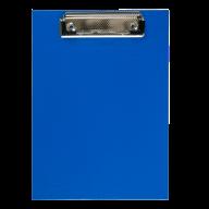 Клипборд, А5, PVC, темно-синий