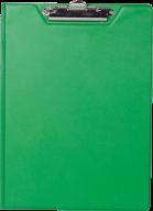 $Клипборд-папка, А4, PVC, зеленый