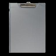 $Клипборд-папка, А4, PVC, серый