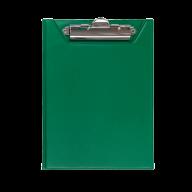 @$Клипборд-папка, А5, PVC, зеленый