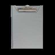 @$Клипборд-папка, А5, PVC, серый
