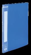 @$Папка пластиковая с 10 файлами, А4, синяя