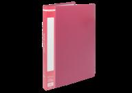 @$Папка пластиковая с 20 файлами, А4, красная
