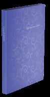 $Папка пластиковая с 20 файлами, BAROCCO, А4, фиолетовая