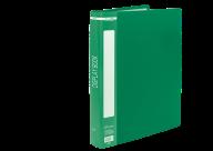 @$Папка пластиковая с 60 файлами, А4, зеленая