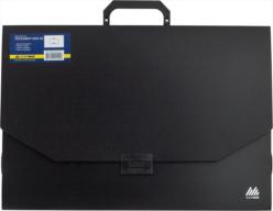 Портфель, A3, пластик 700 мкм, чёрный