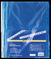 Файл для документов PROFESSIONAL, А4, 40 мкм, синий, по 100 шт. в упаковке