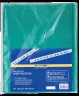 >$Файл для документов PROFESSIONAL, А4, 40 мкм, зеленый, по 100 шт. в упаковке