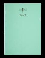Папка-уголок FAVOURITE, PASTEL, А4, мятная