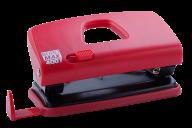 #@$Дырокол пластиковый, до 10 л., 123х62х38 мм, красный