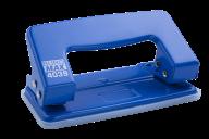 ^$Дырокол металлический, JOBMAX, до 10 л., 100х55х50 мм, синий