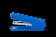 ^$Степлер пластиковый (плоский), JOBMAX, 10 л., (скобы №10), 92x38x20 мм, синий