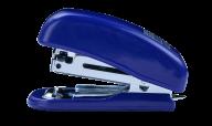 Степлер пластиковый МИНИ, 10 л., (скобы №10), 61х36х23 мм, синий