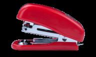 Степлер пластиковый МИНИ, 10 л., (скобы №10), 61х36х23 мм, красный