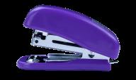 Степлер пластиковый МИНИ, 10 л., (скобы №10), 61х36х23 мм, фиолетовый