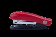 Степлер пластиковый, 12 л., (скобы №10), 88х44х22 мм, красный