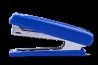 Степлер пластиковый, 12 л., (скобы №10), 107х25х54 мм, синий