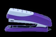 Степлер пластиковый ШАХМАТКА, 12 л., (скобы №10), 108х50х25 мм, фиолетовый