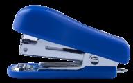 ^Степлер пластиковый МИНИ, 12 л., (скобы №10), 60х24х35 мм, синий