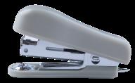 #^Степлер пластиковый МИНИ, 12 л., (скобы №10), 60х24х35 мм, серый
