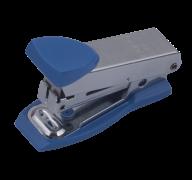 $Степлер металлический МИНИ, 12 л., (скобы №10), 61x34x25 мм, синий