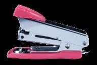 #^$Степлер металлический МИНИ, 12 л., (скобы №10), 61x34x25 мм, розовый