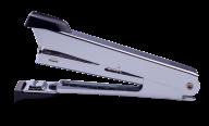 Степлер металлический, 12 л., (скобы №10), 94x42x21 мм, черный