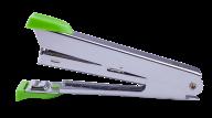 ^@Степлер металлический, 12 л., (скобы №10), 94x42x21 мм, светло-зеленый