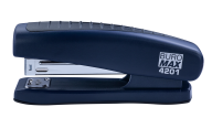 Степлер пластиковый, 20 л., (скобы №24; 26), 123х36х52 мм, синий