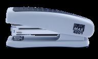 Степлер пластиковый, 20 л., (скобы №24; 26), 123х36х52 мм, серый
