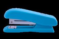 @Степлер пластиковый, RUBBER TOUCH, 20 л., (скобы №24; 26), 127х54х33 мм, голубой