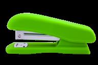 @Степлер пластиковый, RUBBER TOUCH, 20 л., (скобы №24; 26), 127х54х33 мм, светло-зеленый