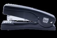 Степлер пластиковый с поворотным рычагом, 20 л., (скобы №24; 26), 155х38х73 мм, черный