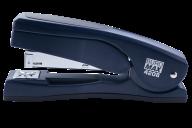 Степлер пластиковый с поворотным рычагом, 20 л., (скобы №24; 26), 155х38х73 мм, синий