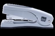 #Степлер пластиковый с поворотным рычагом, 20 л., (скобы №24; 26), 155х38х73 мм, серый