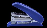 Степлер пластиковый POWER SAVING, 20 л., (скобы №24; 26), 124х66х34 мм, синий