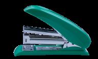 #@$Степлер пластиковый POWER SAVING, 20 л., (скобы №24; 26), 124х66х34 мм, зеленый