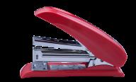 #@$Степлер пластиковый POWER SAVING, 20 л., (скобы №24; 26), 124х66х34 мм, красный