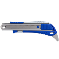 Нож универсальный, 18 мм, мет. направляющяя, с доп. крючком