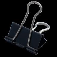 ^$Биндер-зажим, 25 мм, черный, по 12 шт. в карт.коробке